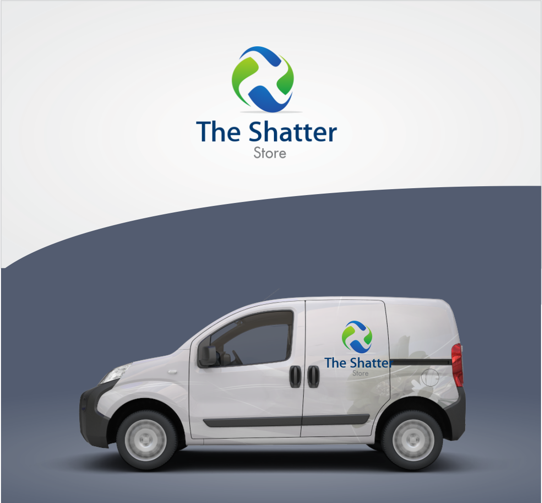 Modern, Bold Logo Design for The Shatter Store by Orang