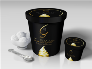 Packaging Design by Giovanni - Ice Cream Cup Design