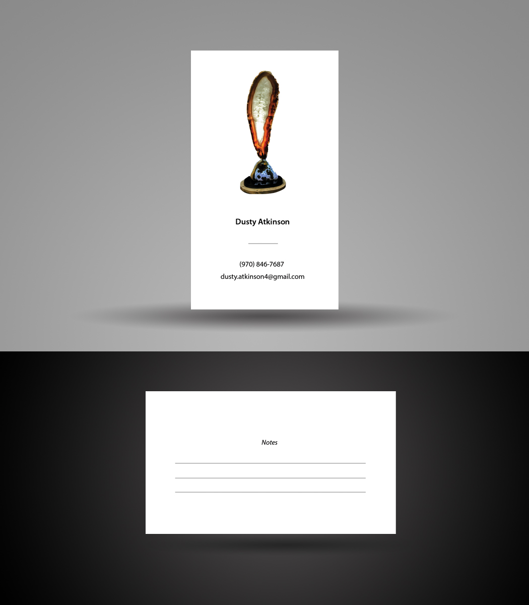 Upmarket elegant art gallery business card design for the geode business card design by satyajit sil creations for the geode guys design 18653836 reheart Images