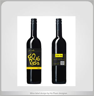 Wine Label Graphic Design 663292