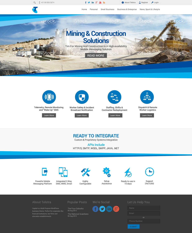Modern professional web design for matthew murphy by for Australian design firms