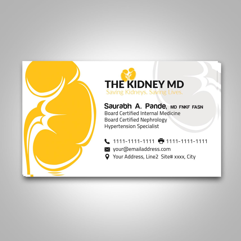 Modern, Elegant, Health Care Business Card Design for a