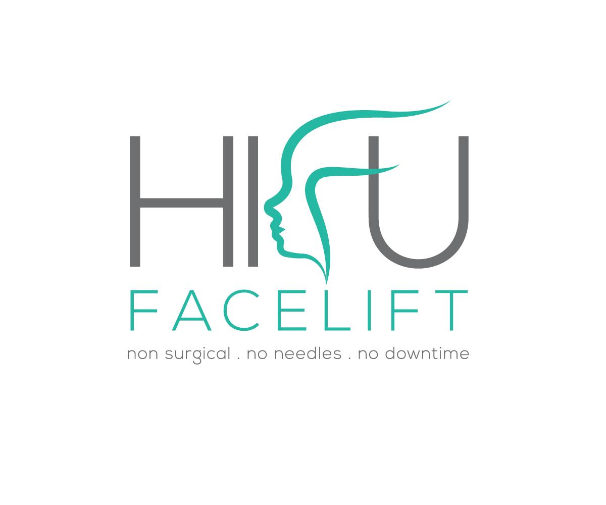 Logo Design for HIFU Facelift - non surgical - no needles