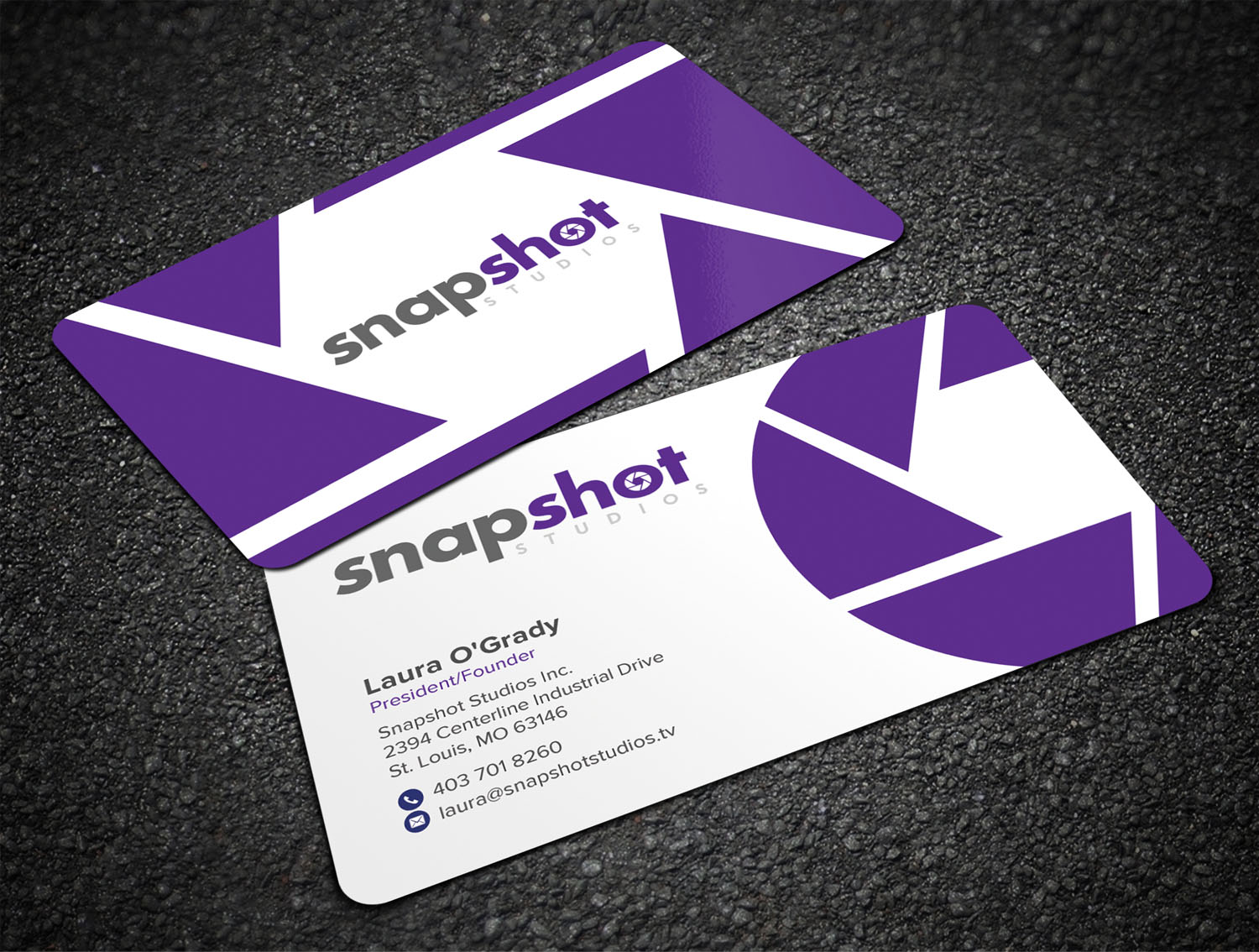 Bold playful film production business card design for a company by bold playful film production business card design for a company in canada design 18547768 colourmoves