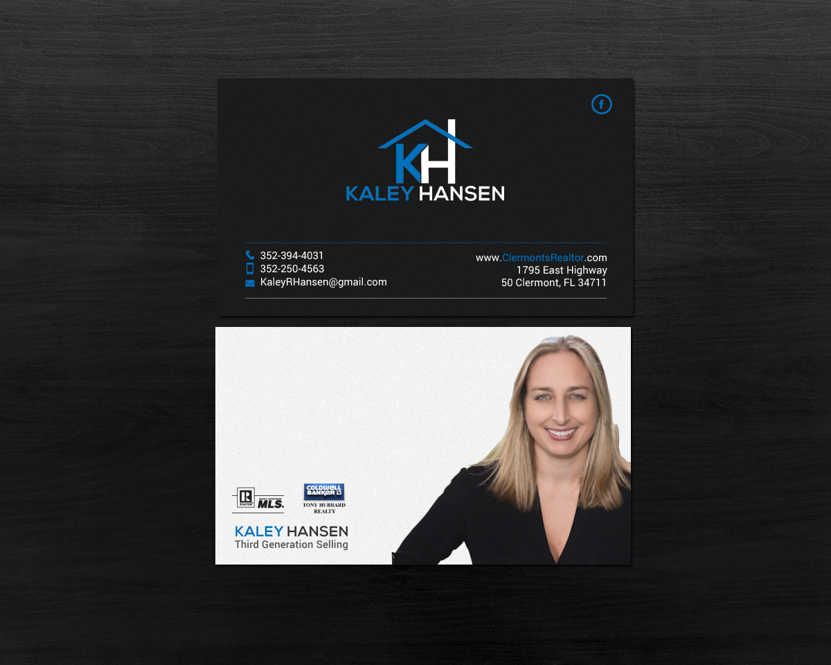 Modern professional real estate agent business card design for a business card design by chandrayaaneative for this project design 18543801 colourmoves