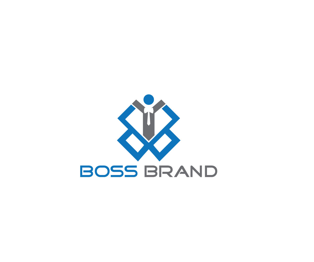 Bold Modern Fashion Logo Design For Boss Brand By Rose Flower