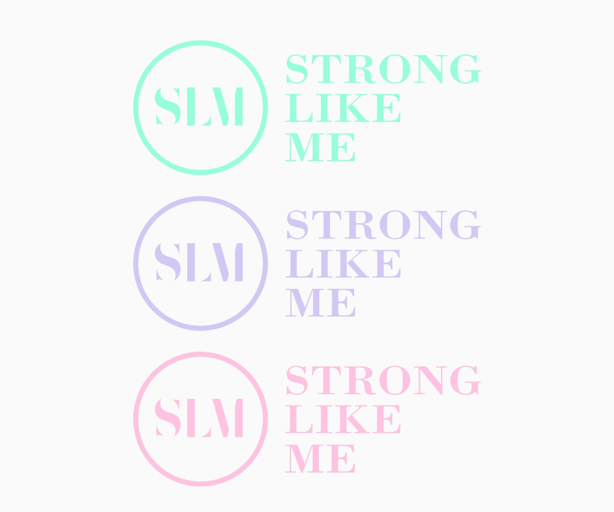 Personable Feminine Charity Logo Design For Strong Like Me By B8