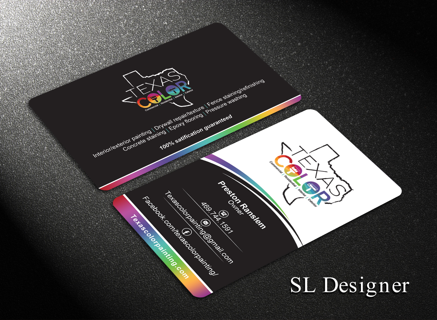 143 Upmarket Business Card Designs | Painting Business Card Design ...