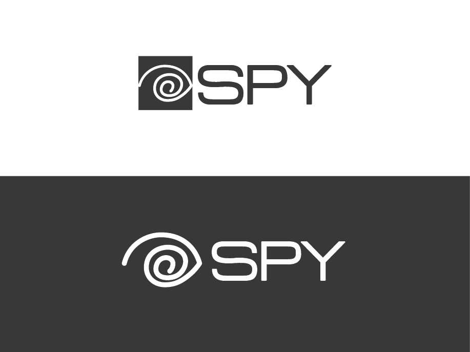 elegant playful entertainment industry logo design for the text spy should be to the right of the design we like the impact style font but are open to new ideas ut by entertainment industry logo design