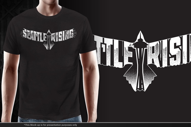 T Shirt Design For Seattle Rising By Gek Design 18559551