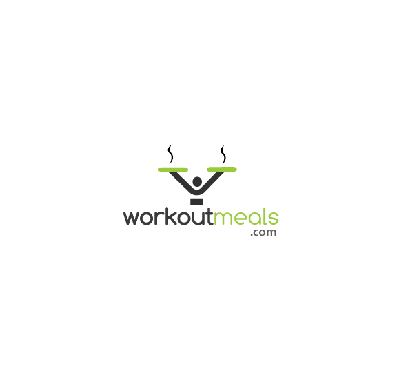 Modern Professional Gym Logo Design For Workout Meals By Hd