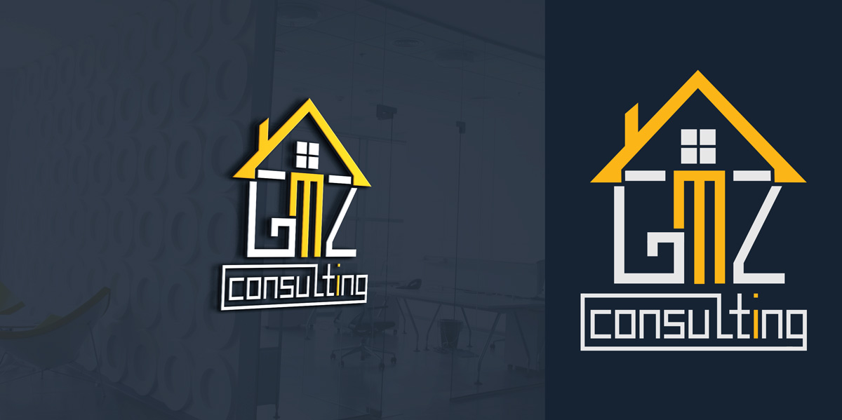 Serious Professional Engineering Consultant Logo Design