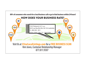 Business Card Design by skanderson - 5StarListings