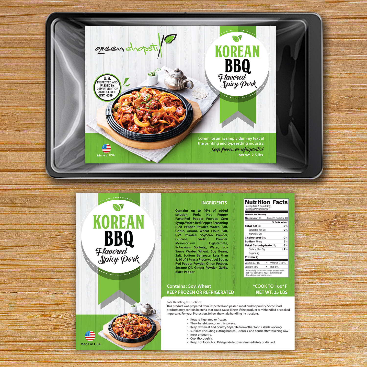 Modern Playful Food Production Packaging Design For A Company By