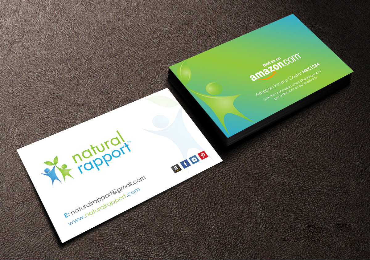 Masculine bold pet business card design for natural pet business card design by creations box 2015 for natural pet innovations design 18607709 reheart Images