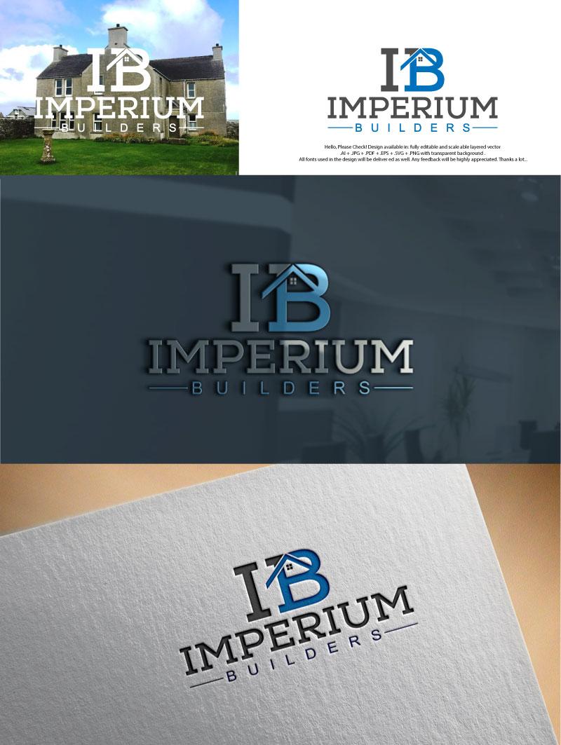 Modern, Professional, Construction Logo Design for Imperium