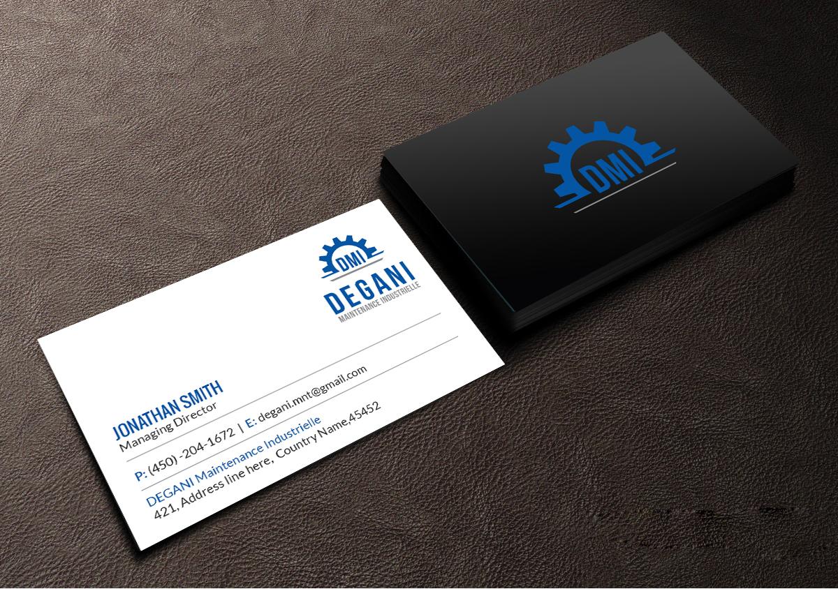 Masculine, Upmarket, Manufacturing Business Card Design for a ...