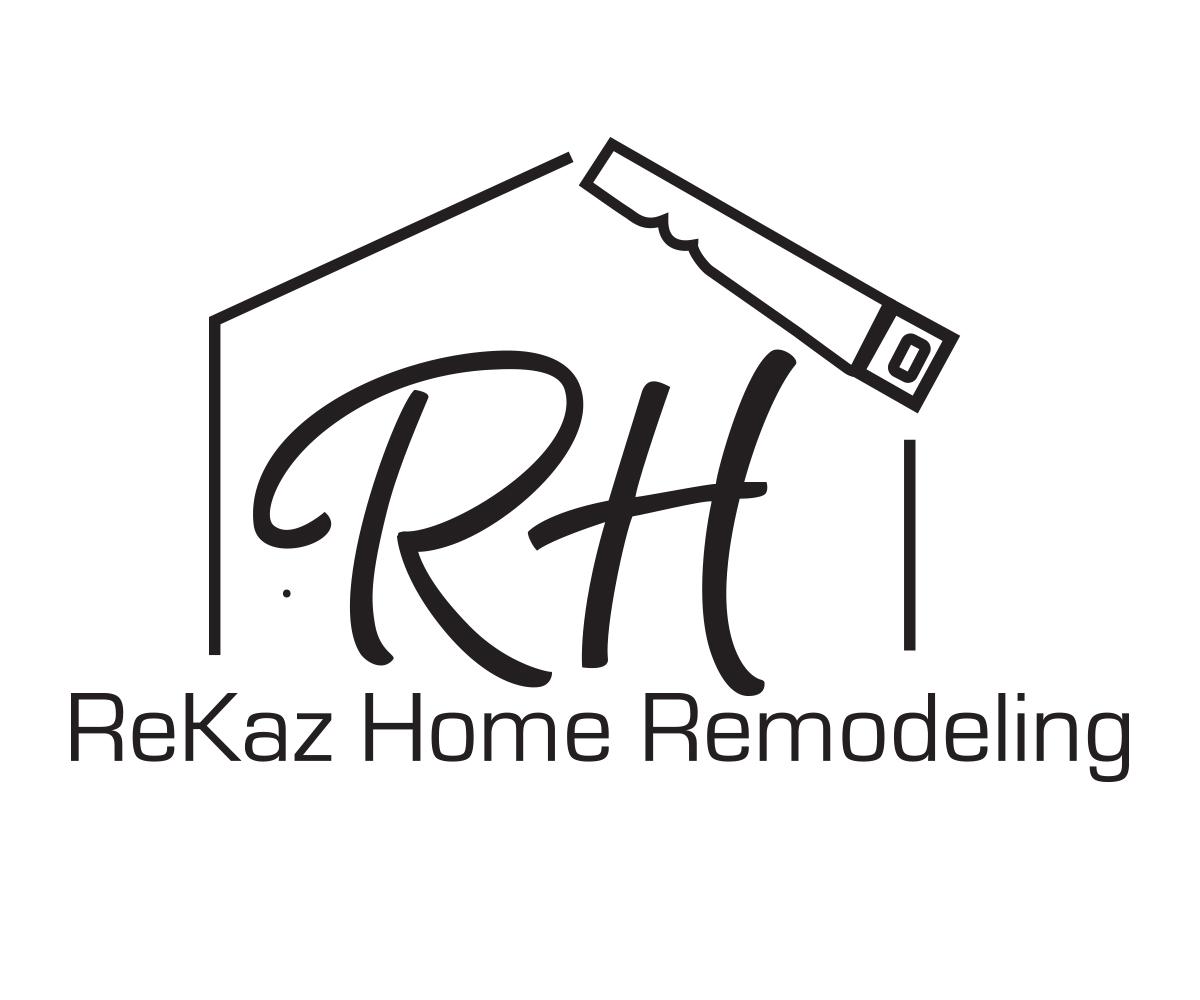 Elegant Serious Logo Design For R H Remodeling Or R H Or