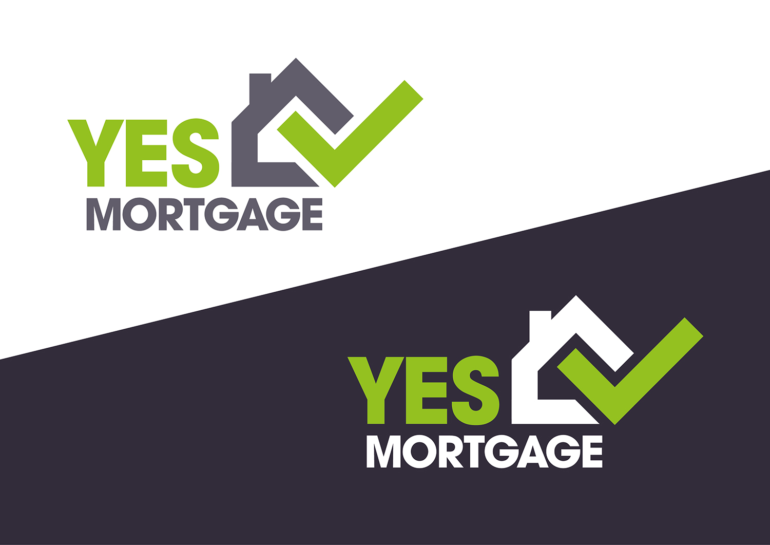 Conservative, Bold Logo Design for Yes Mortgage by Channel