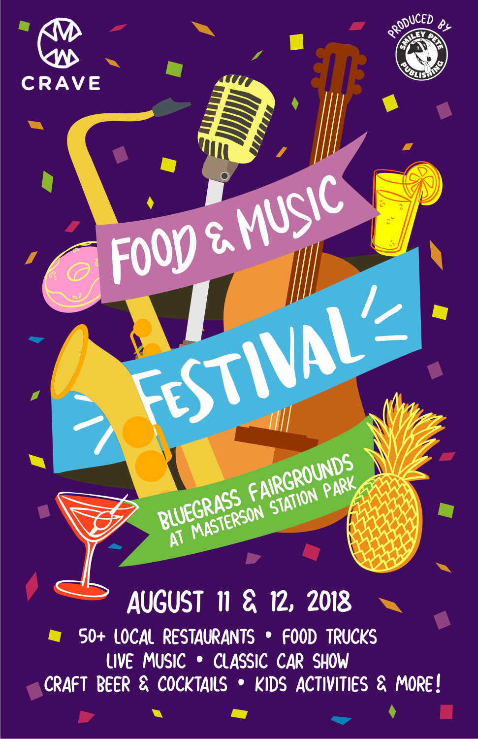 Personable Playful Festival Poster Design For A Company By