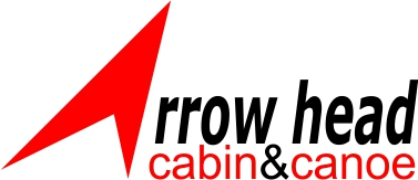 Logo Design For Arrowhead Cabin And Canoe By Jithu Babu