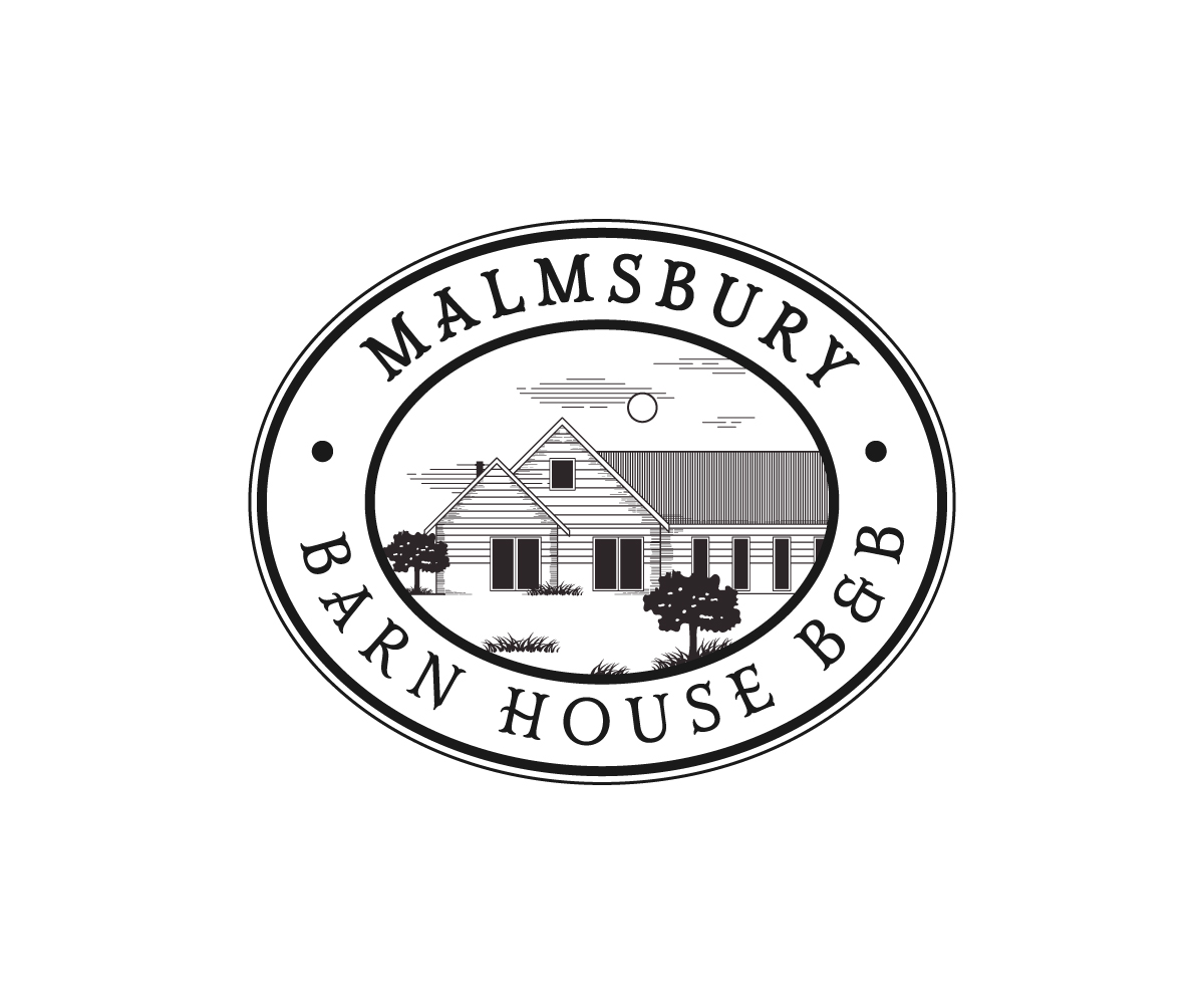 Malmsbury Barn House B&B Logo Design by 91.kremena.petrova