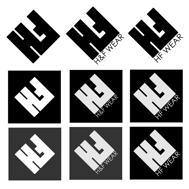 Elegant, Playful, Clothing Logo Design For H&F In United States