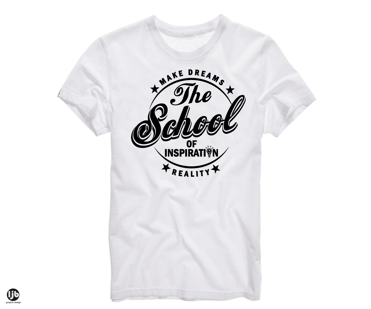 Playful Modern Life Coaching T Shirt Design For The School Of