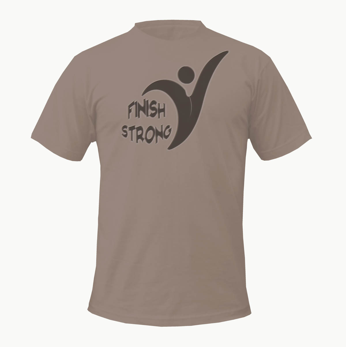 Bold Modern Online T Shirt Design For Finish Strong By D