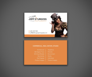 Design De Carte Visite Indesign Par Ciniangela87