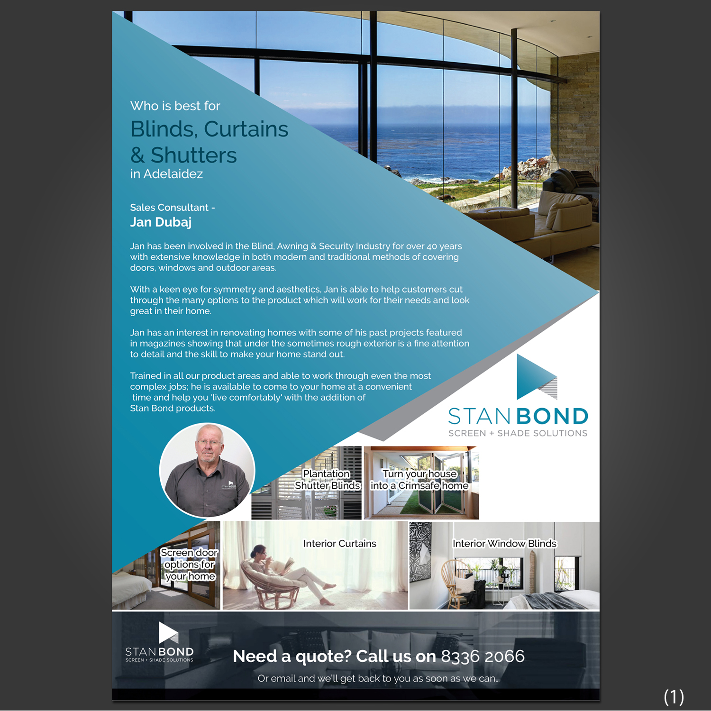 Elegant Modern Home Improvement Flyer Design For A Company
