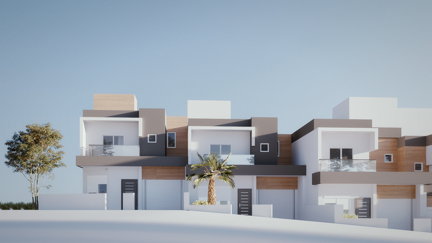Elegant Modern Real Estate 3d Design For A Company By