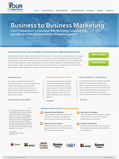 Professional Business Wordpress Maker Design 49935