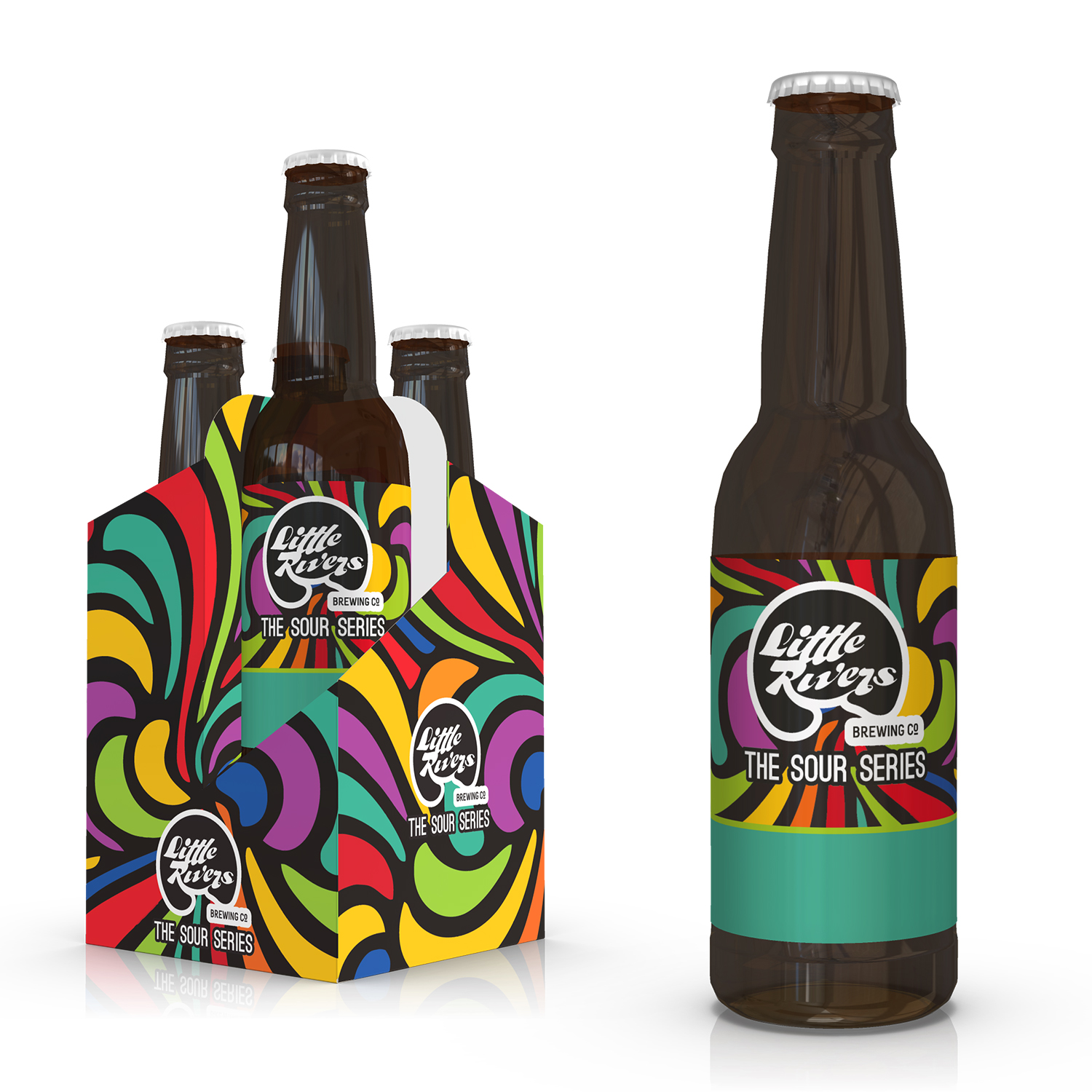 Playful Modern Craft Brewery Packaging Design For A Company By