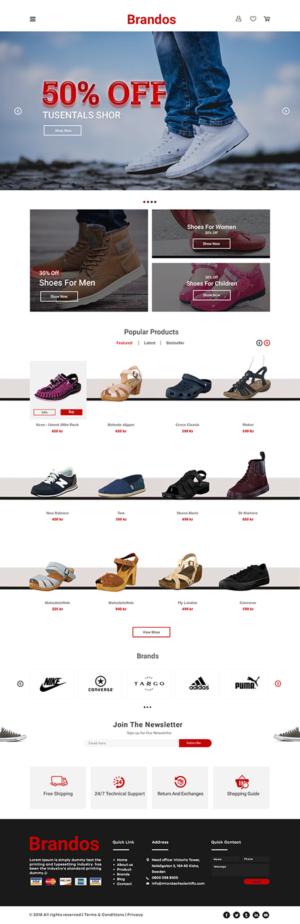 Shoe Store Websites | 6 Custom Shoe