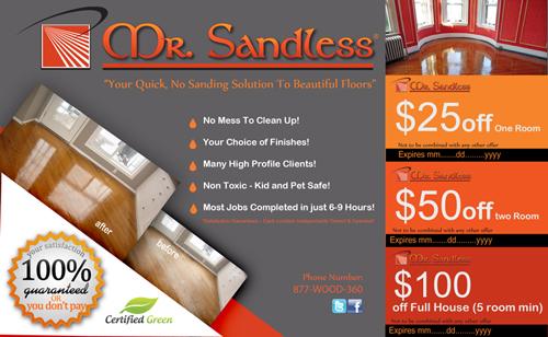 Elegant, Playful Advertisement Design for Mr. Sandless Inc by ...