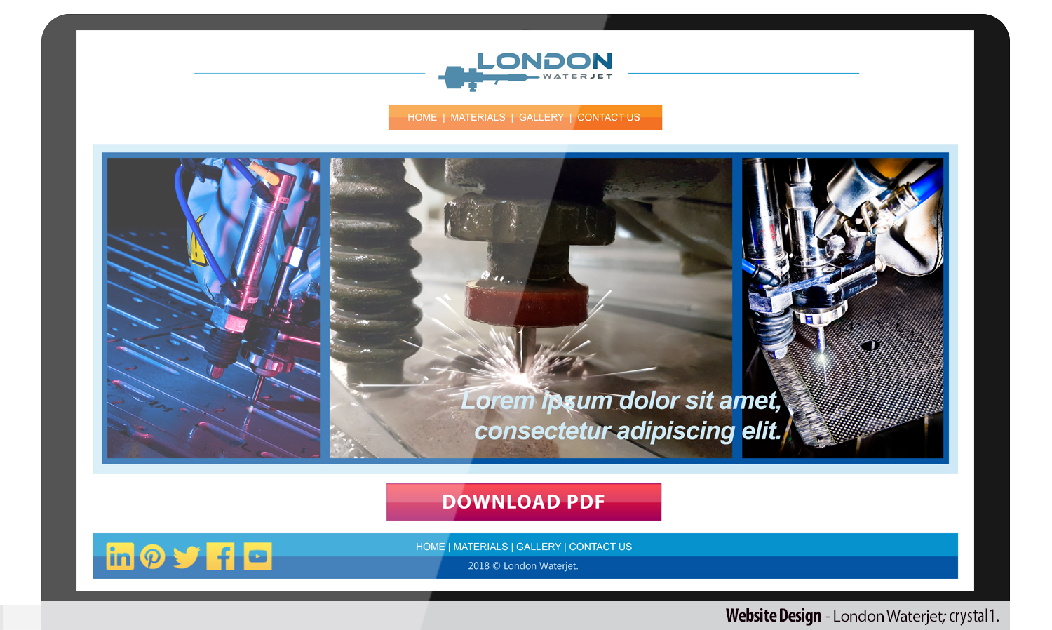 Modern Professional Engineering Web Design For A Company By Superhotpink1 Design 18822227