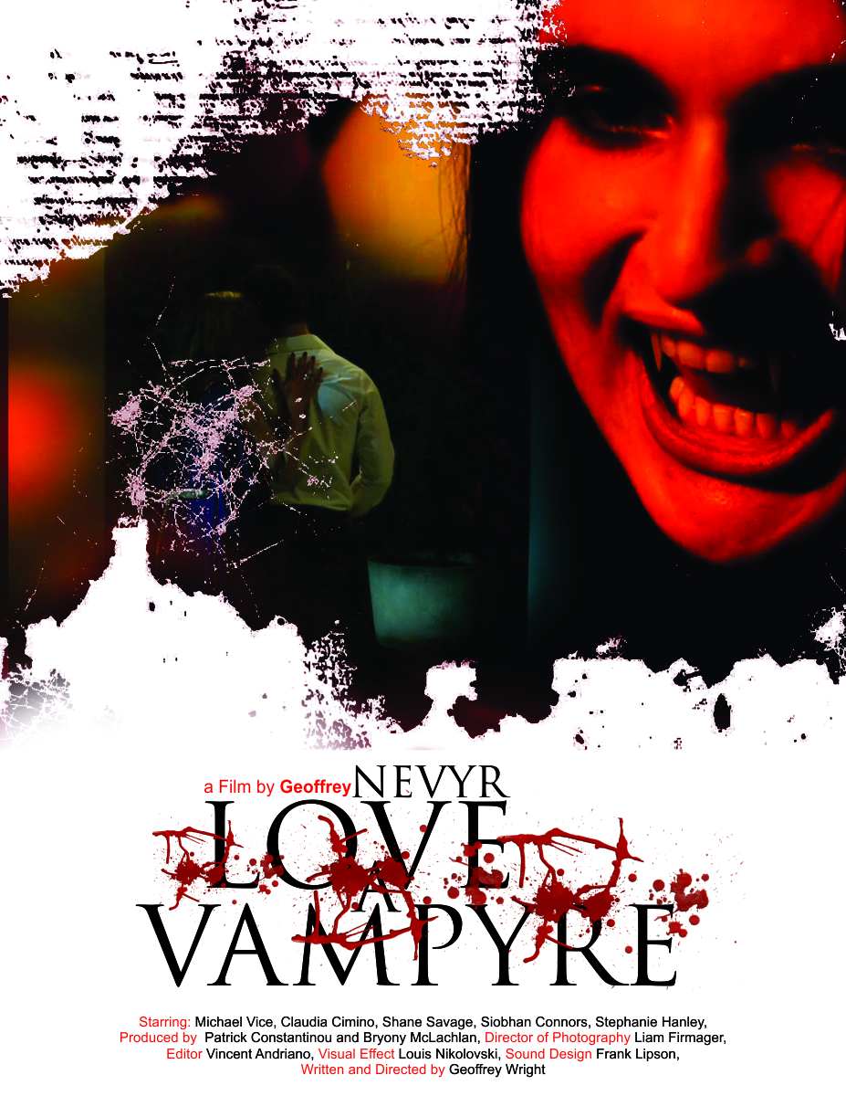 Poster design editor - Poster Design By We Creeativebird For Established Director Movie Poster Nevyr Love A Vampyre
