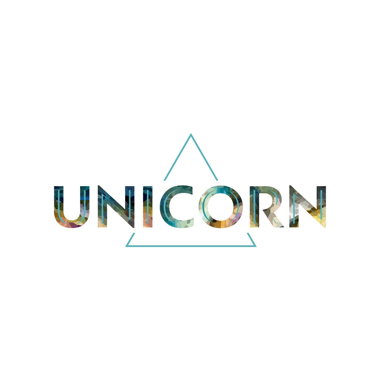 Watercolor Unicorn Logo Design by eugenv