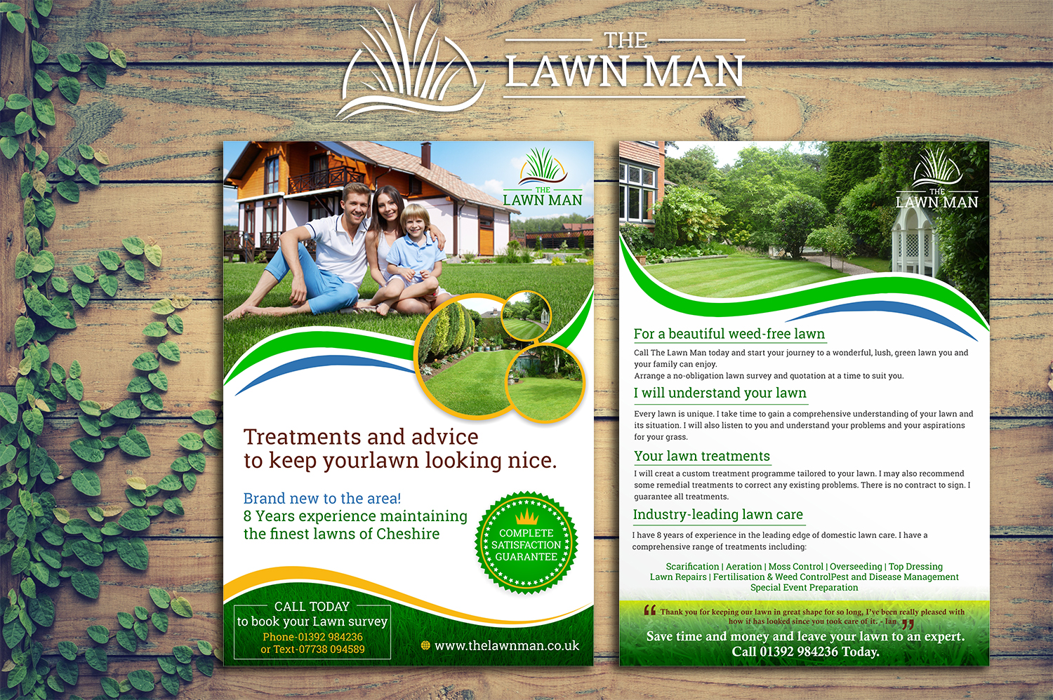 Bold, Professional Flyer Design for The Lawn Man by New ...
