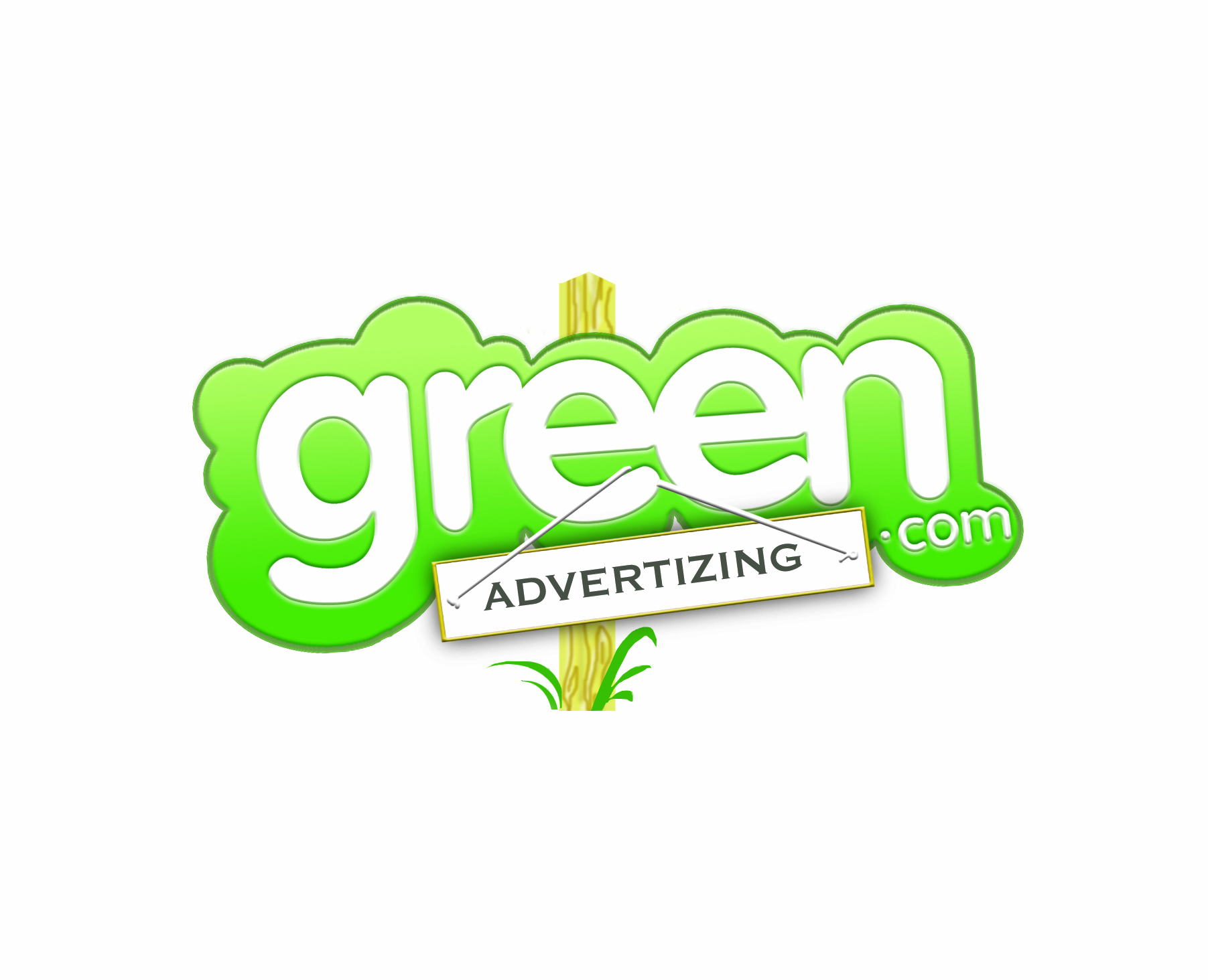Logo Design by UpStart Design & Media for Logo for a green ad network  - Design #50385