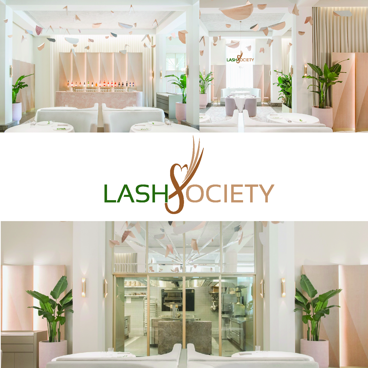 Feminine Modern Beauty Salon Logo Design For Lash Society By Art X Design 18939854
