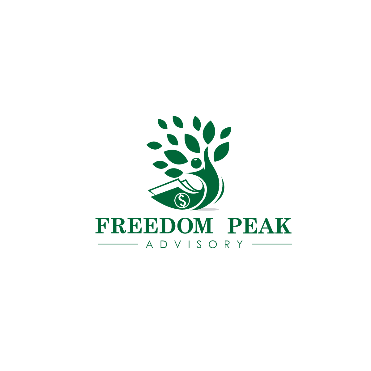 Logo Design For Freedom Peak Advisory By Creative Bugs