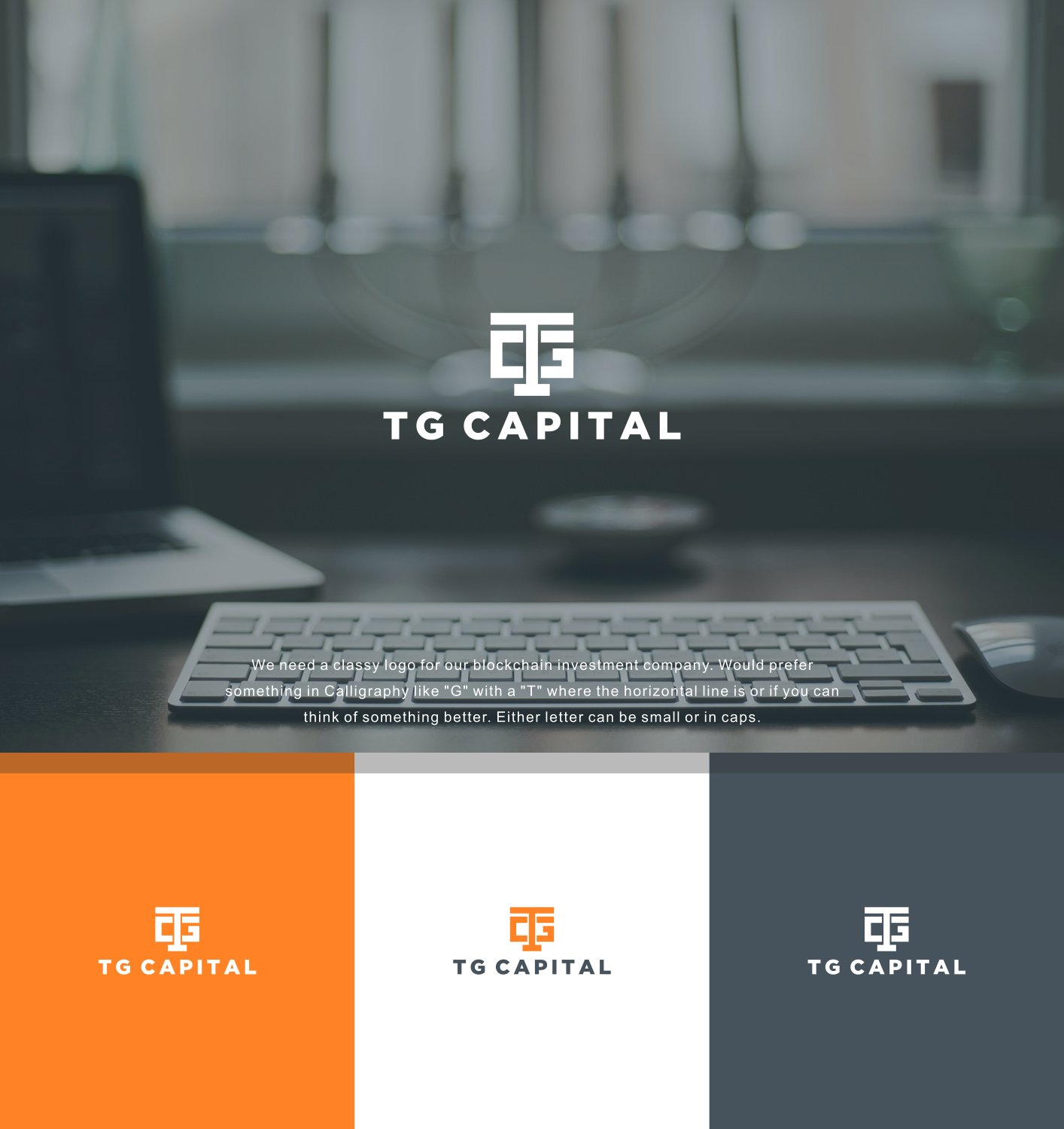 Logo Design For Tg Capital By Fireblaster Design 18773025