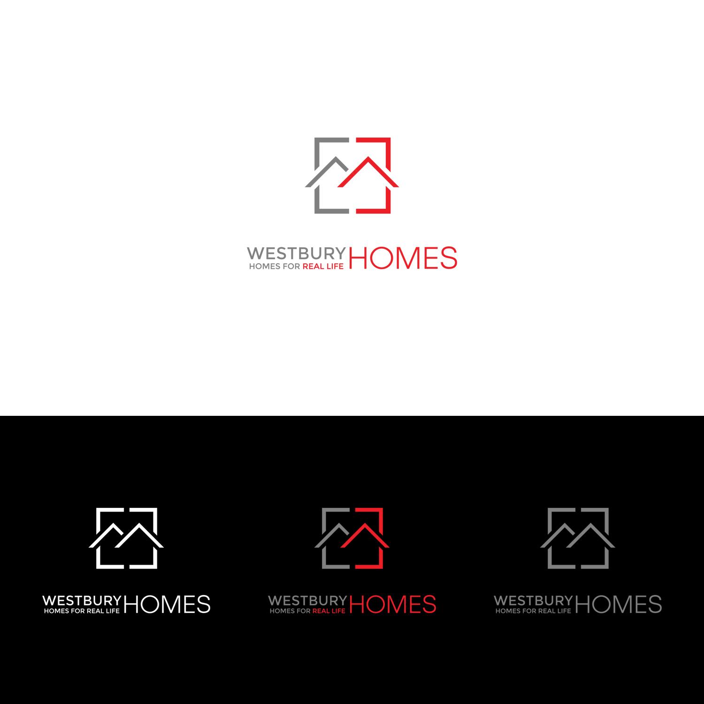 Conservative Modern Home Builder Logo Design For Westbury