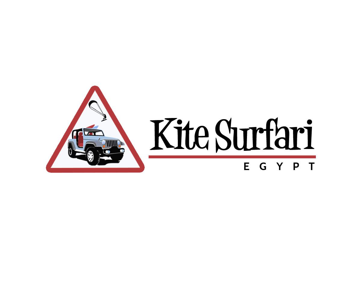 Egypt Kite Surfari Logo by polj designs