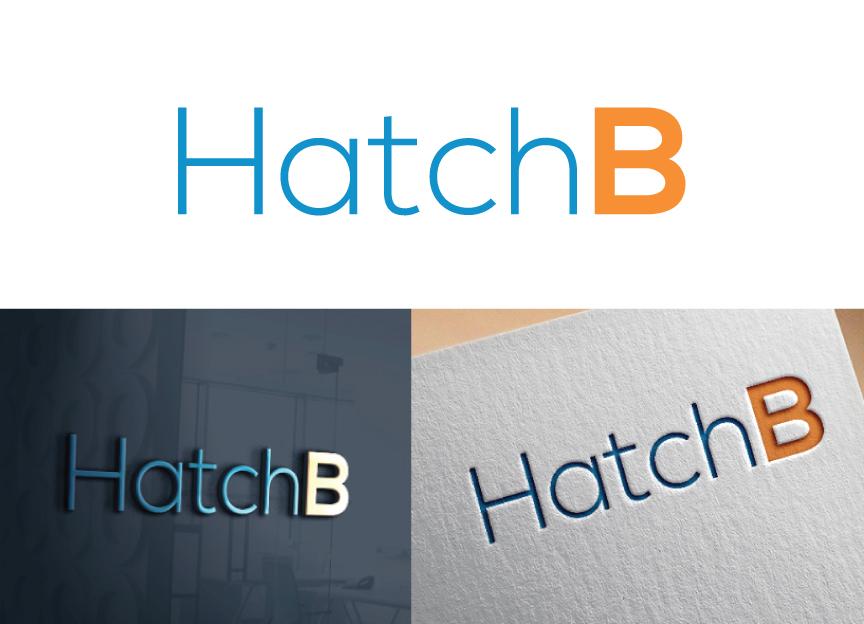 Bold, Modern, Tech Logo Design for HatchB by Holley Hailey | Design