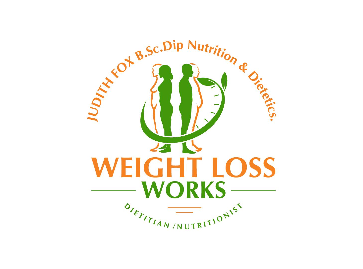 logo design for weight loss works judith fox b sc dip nutrition