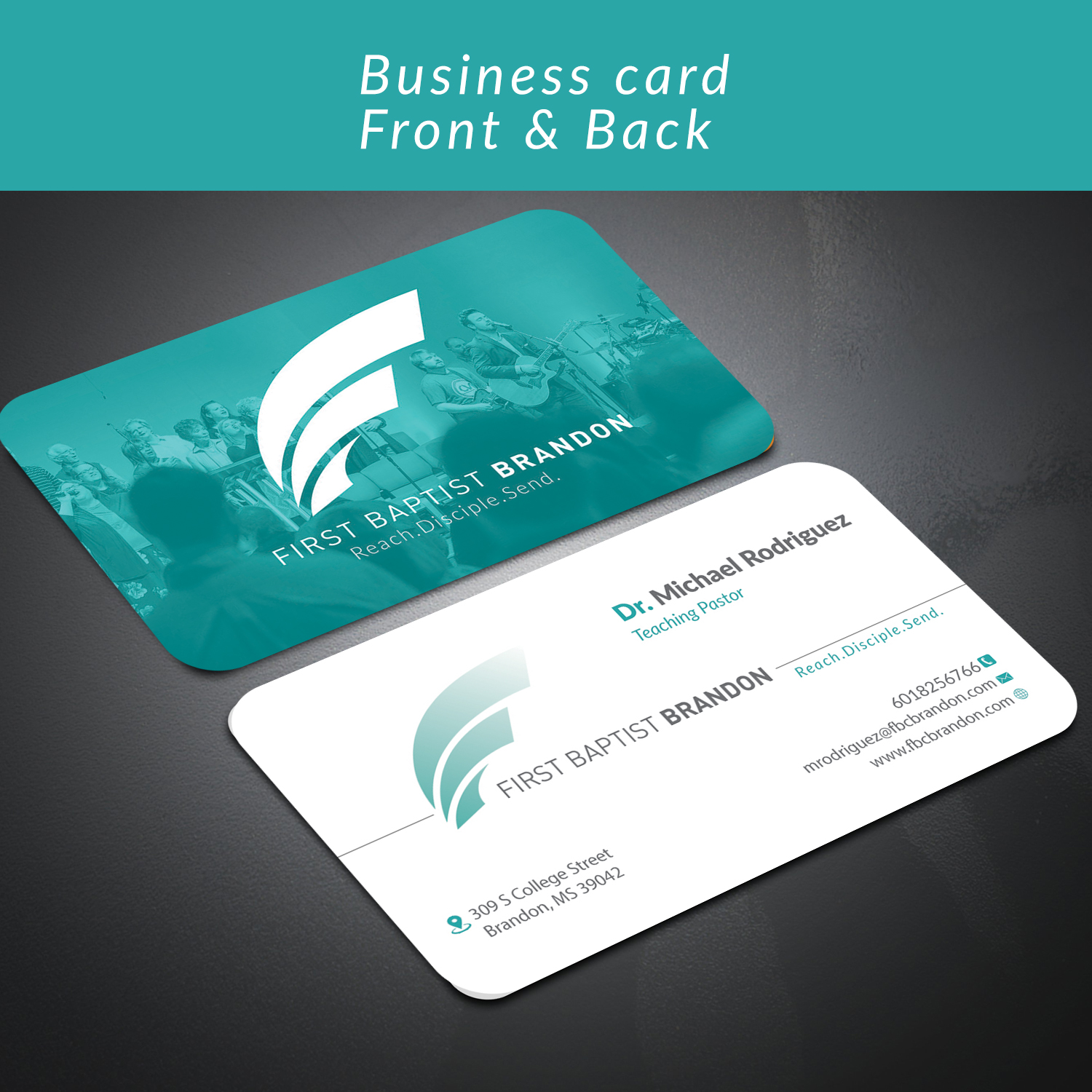 Modern, Economical, Church Business Card Design for a Company by ...