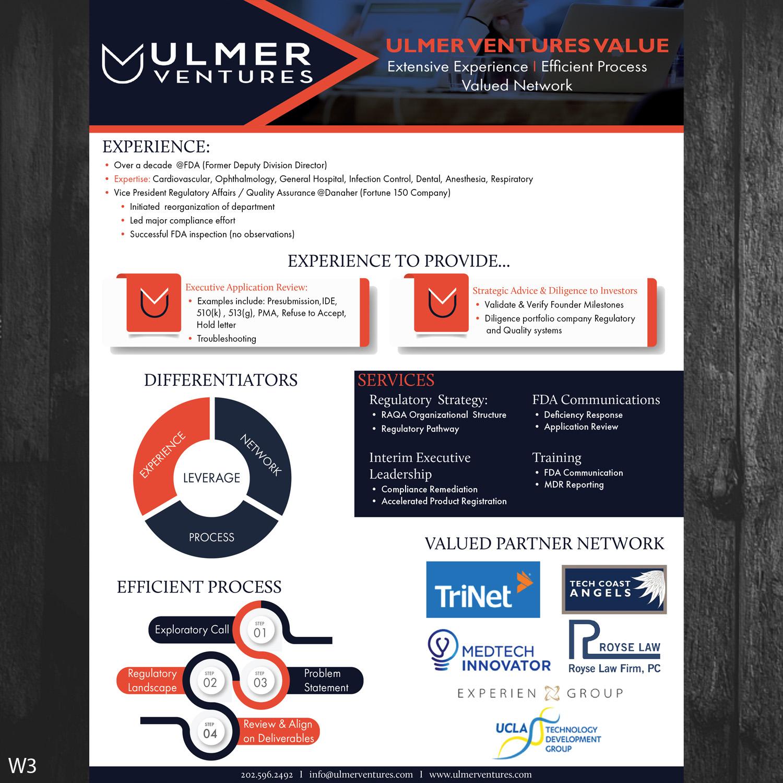 Upmarket, Bold, Medical Equipment Flyer Design for Ulmer